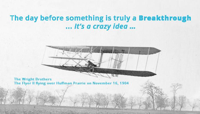 Breakthrough or Crazy?